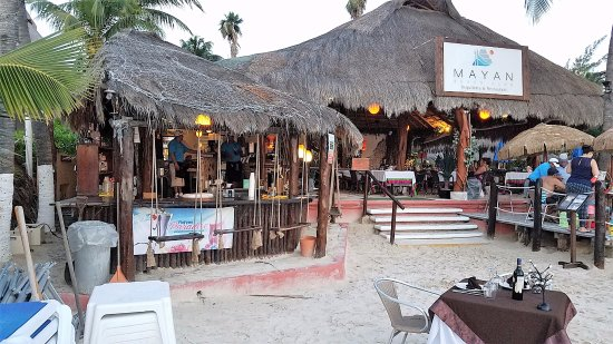 Beach Entrance Picture Of Mayan Beach Club Restaurant
