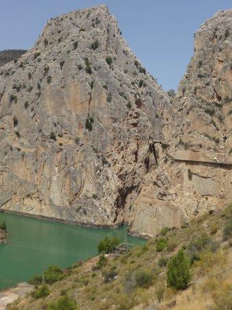 El Chorro, สเปน: saliendo del caminito
