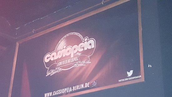 Alternative Berlin Tours: Cassiopeia club