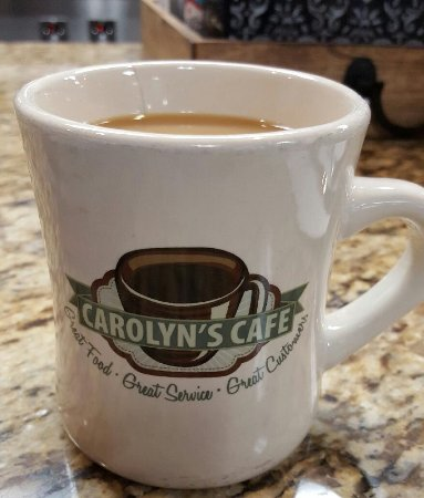 "Redlands, CA: Their coffee mugs say it all ""Great Food - Great Service - Great Customers"""