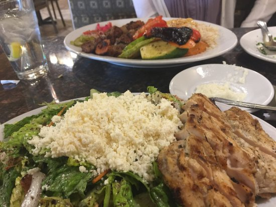 Bloomfield Hills, Μίσιγκαν: Hummus is excellent!  The bread is fresh, tabbouleh salad was tasty, garlic spread has a bite so