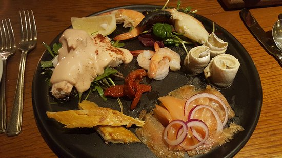 Greencastle, Irland: Fabulous food and presentation