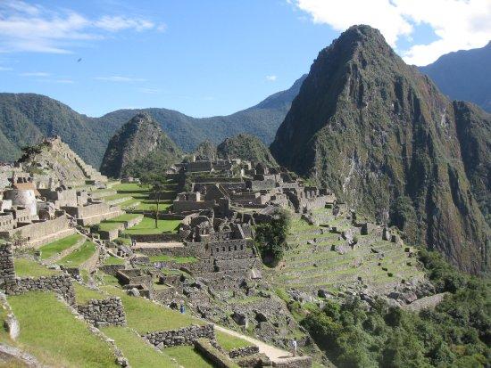Amaru Journey Peru: The view of Machu Pichu from the Sun Gate!