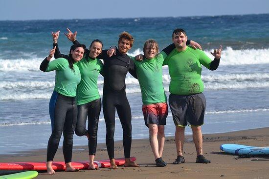 Poris de Abona, İspanya: surf es vida