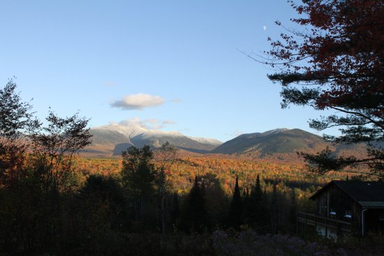 Franconia, NH: The view from Robert Frost's front porch at The Frost Place.