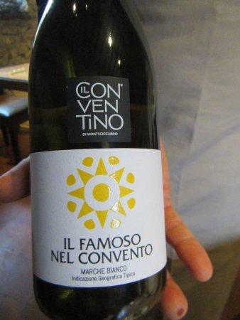Pennabilli, Italia: secondo vino
