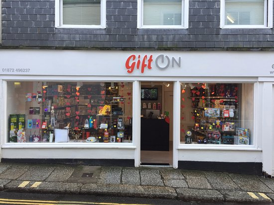 Truro, UK: Shop from outside