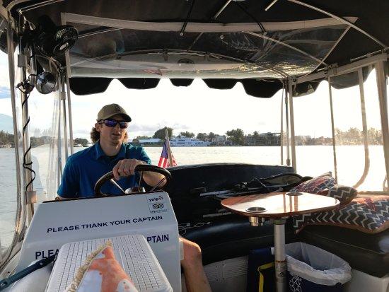 Riverfront Gondola Tours Captain Jared