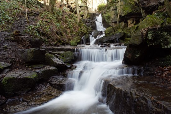 Matlock, UK: Lumsdale falls