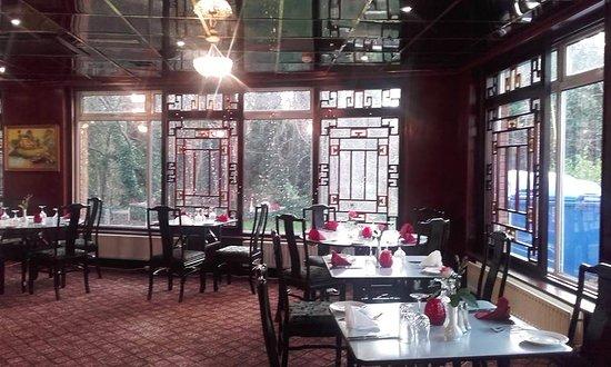 Leixlip, Irlande : Inside the restaurant