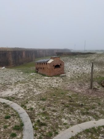 Fort Morgan, AL: Oven for heating round shot