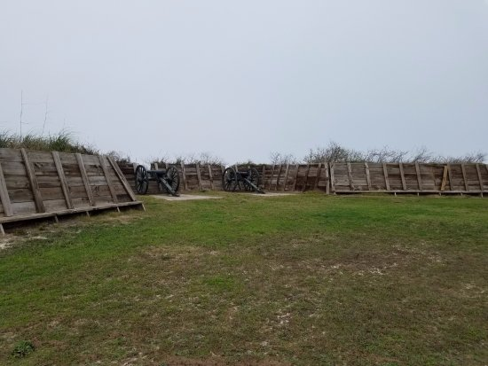 Fort Morgan, AL: Union siege lines