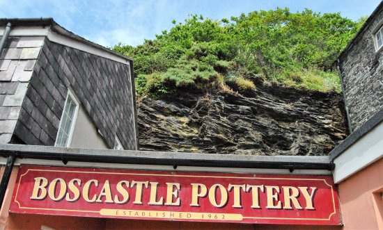 Boscastle, UK: Close  to the bus stop