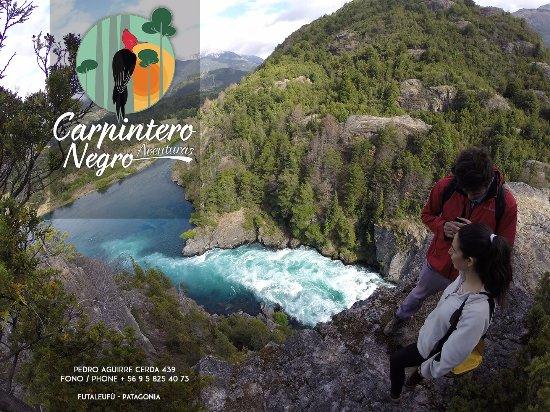 Futaleufu, Chile: La Caminata al Pozón de Los Reyes ofrece paisajes increíbles del Rio Futaleufù (2:30 hr).