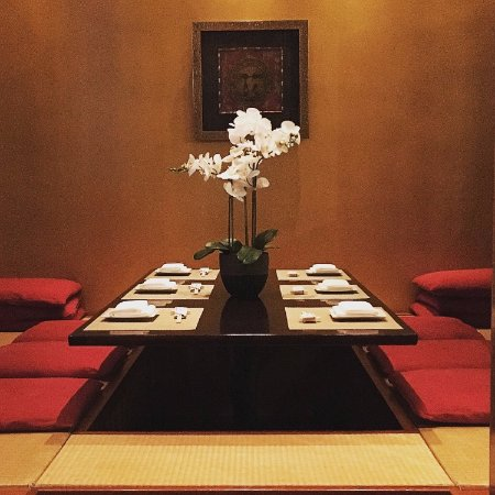 Traditional Japanese Dining Room tatami room (traditional japanese dining set up) - picture of