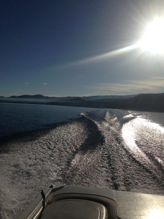 Bigfork, MT: Boating on Flathead Lake