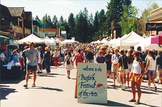 Bigfork Festival of the Arts, always the first weekend of August