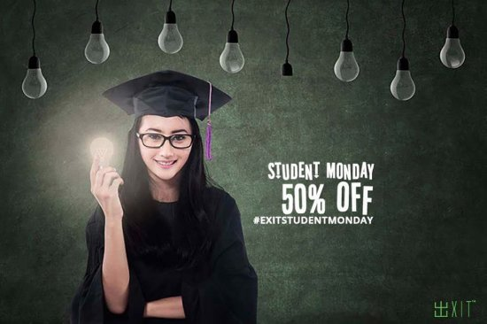 Prince George, Canadá: Student Mondays