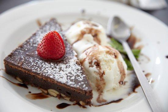 Κόλπος Bantry, Νότια Αφρική: Chocolate Brownie and Ice Cream
