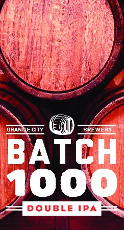 Granite City Food & Brewery: Batch 1000 Double IPA