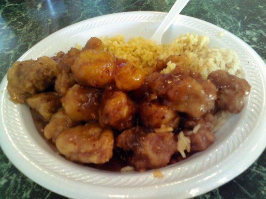 Lin S Garden Restaurant Partially Eaten As It Is That Good