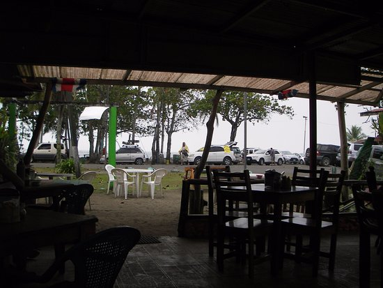 Manzanillo, Costa Rica: soda la playa