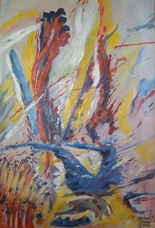 Abstrait photo de galerie d 39 art mourad fouad perc for Galerie art abstrait