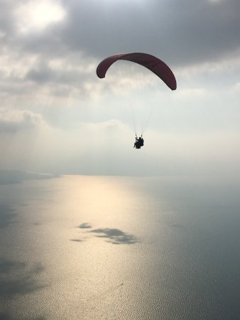 Panajachel, Guatemala: It's so peaceful once you're up in the air!