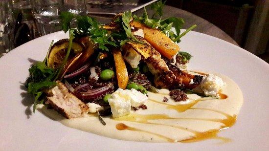 Matakana, New Zealand: Quinoa salad