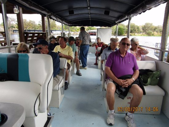 Astor, FL: Ready for the boat trip