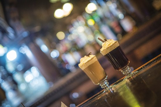 The Library Lounge : Specialty Coffee Drinks