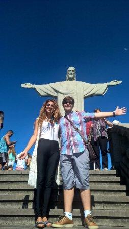 Rio Alternative Tour: Lully & Vicente no Cristo Redentor