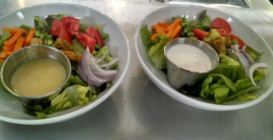 West Jefferson, NC: Side salads.