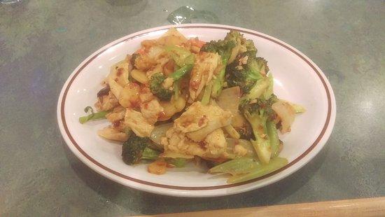 Taber, Canadá: Chicken chop suey