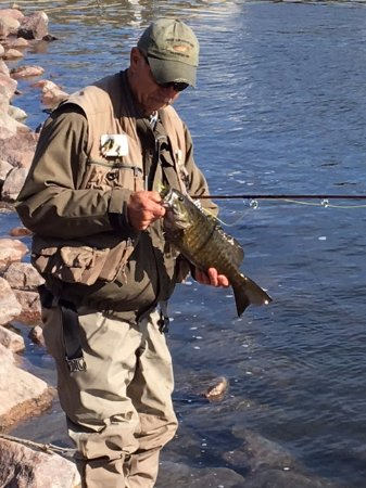 Perham, MN: Fly Fishing for Smallmouth Bass