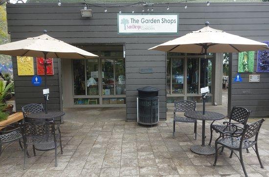 Encinitas, CA: Tables at the Garden Shop
