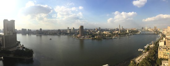 Four Seasons Hotel Cairo at Nile Plaza: Room View