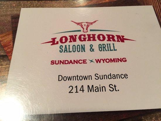 Sundance, WY: Longhorn Saloon & Grill