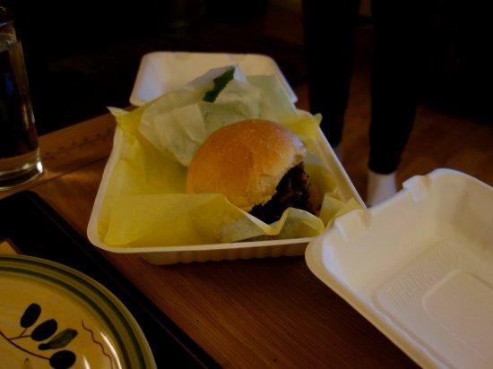Trinidad, CA: BBQ Sandwich