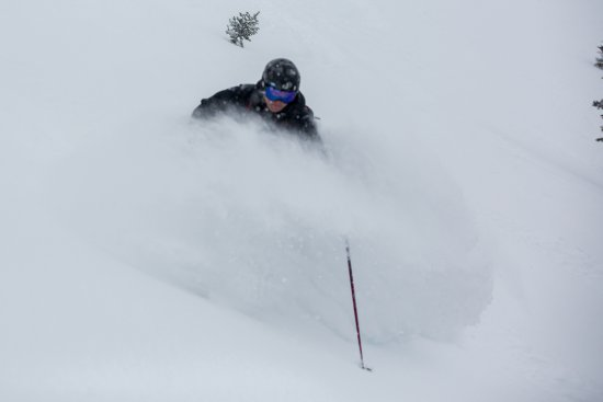 Pincher Creek, Canadá: Powder Skiing at Castle Mountain