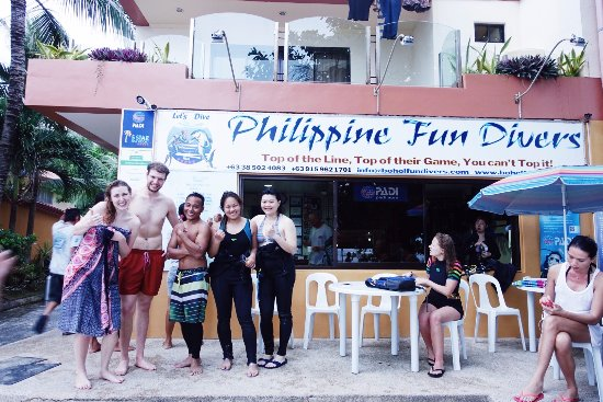 Philippine Fun Divers, Inc.: Upon completion of our OWC!
