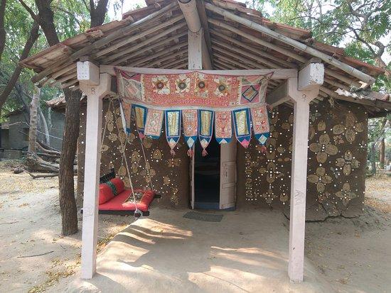 Zainabad, India: our Kooba hut