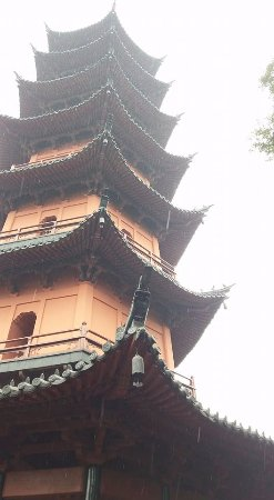 Tianfeng Pagoda: In snow