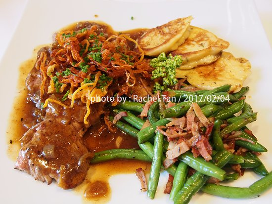 Mondsee lamb with onion sause