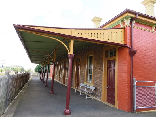 Millthorpe, Australia: No More Trains Stopping Here !