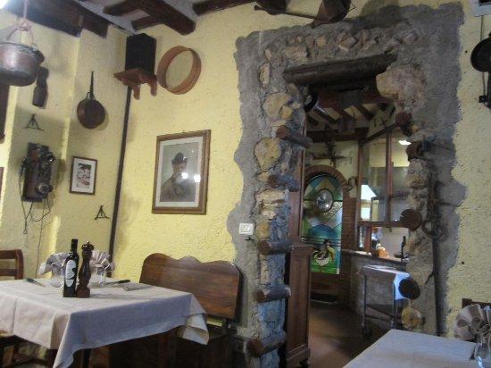 Guasticce, Italia: weiterer Teilausschnitt von der Osteria del Contadino