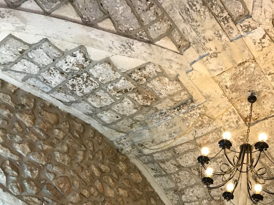 Caffe' del Teatro: Ceiling of the coffee