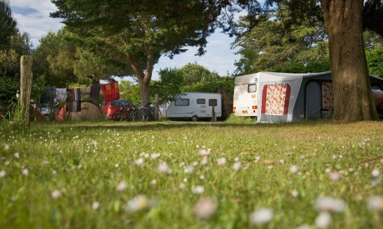Camping L'Ocean : Emplacement