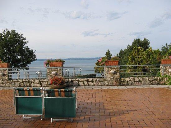 Marciaga di Costermano, Ιταλία: The hotel terrace