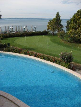Marciaga di Costermano, Ιταλία: The hotel swimming pool